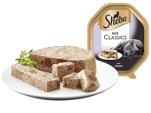 Sheba Classic Paté con Vitello 85 Gr.