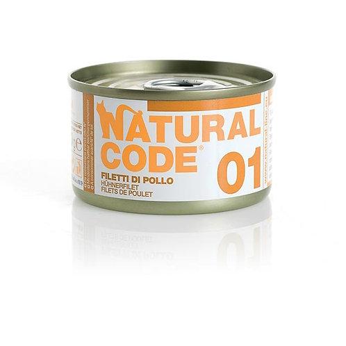Natural Code - 01 Filetti di Pollo 85 Gr.