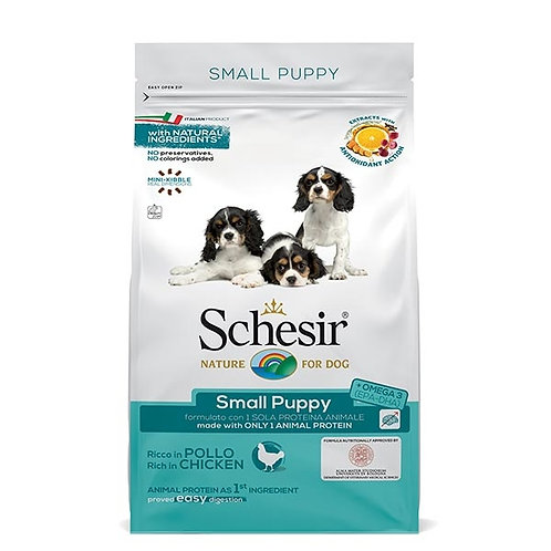 Schesir - Dry Line Small Puppy con Pollo