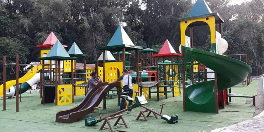 Customize Play Equipment Designs ( Castle Themed)  - Spiral Slide - Short Wave Slide - Long Wave Slide - Bridge - Panels - Castle Roof - Flooring