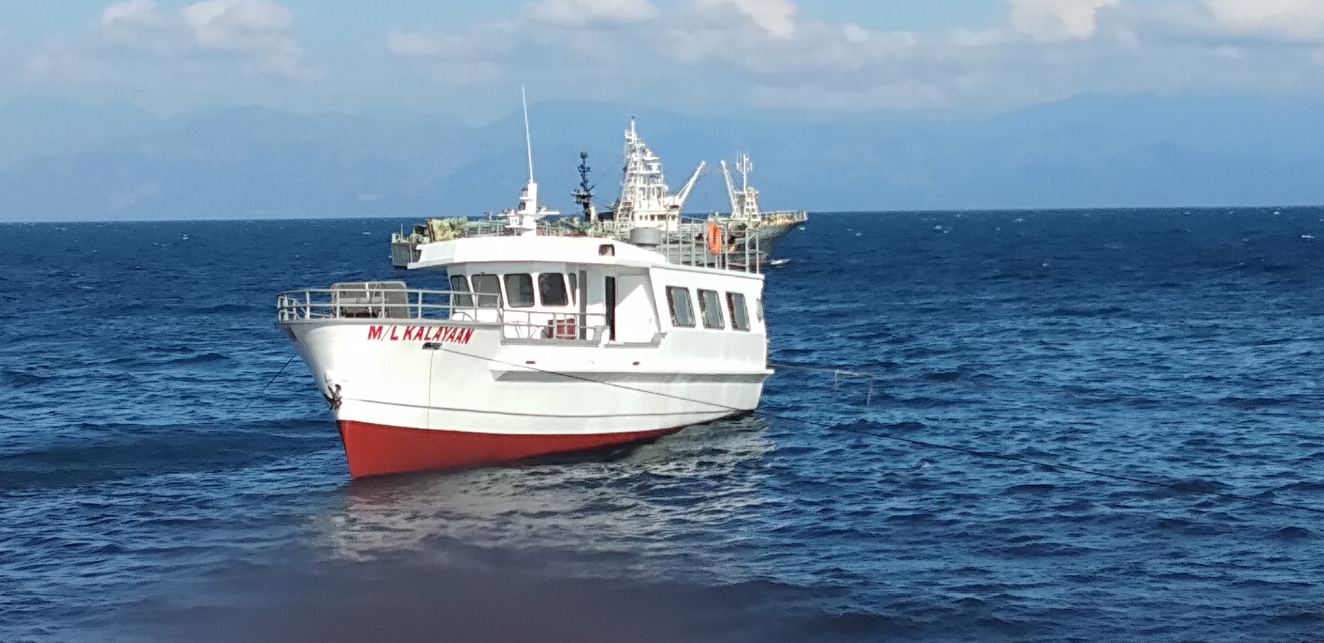 69 ftr. Boat  Specification Length     : 69 ft. Beam       : 16.4 ft. Depth       : 9.84 ft. Capacity   : 45 pax  Inboard Engine