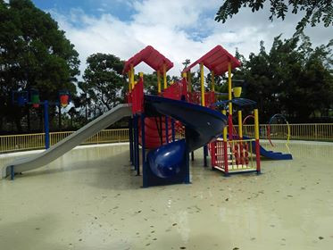 Customized Play Equipment  -Single Slide - Double Slide - Spiral Slide - Star Arc's - Flooring - Roofing - Stair with steel railing  for pool slide