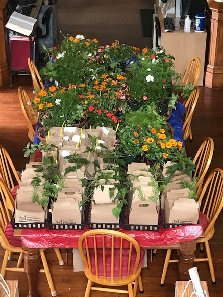 Garden Kits Ready for Pickup
