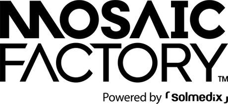 Mosaic Factory Brand Logo_상하조합_Solmedix.