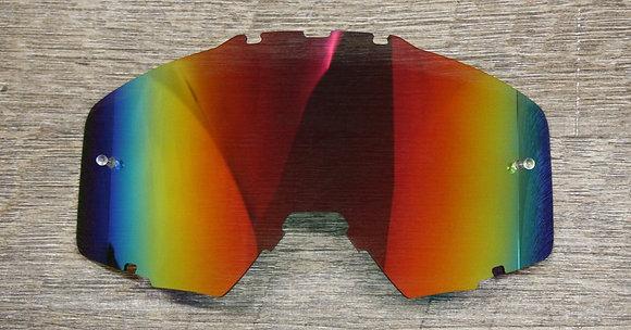 Flow Vision® Rythem™ Motocross Lens: Red