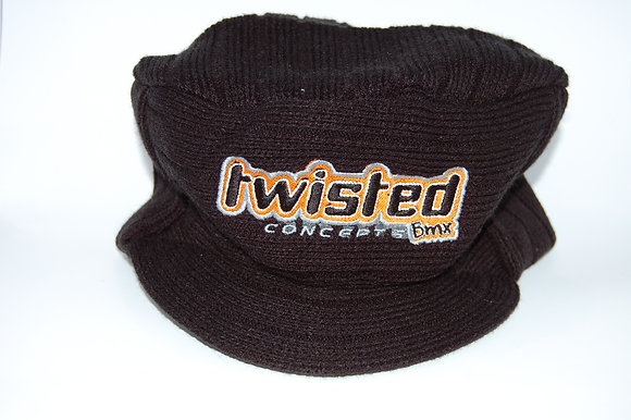 Twisted Concepts Black Urban Knitted Hat