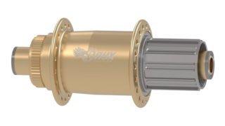 MTB CL HG-135/10mm Thru-Bolt Rear