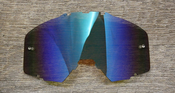 Flow Vision® Rythem™ Motocross Lens: Blue