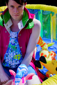 Pool Party, 2013.  Clothes for X Claim Nation by Peter Marsh.  Creative Director, Peter Marsh.  Photographer, Natalie Marsh.