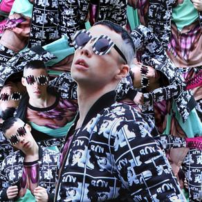 THE LOOK- Genderless, Cyberpunk, Fan BOY(London). 2015.
