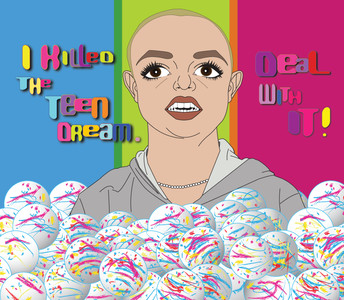 Britney Killed The Teen Dream. Deal With It! Illustrated by Peter Marsh.