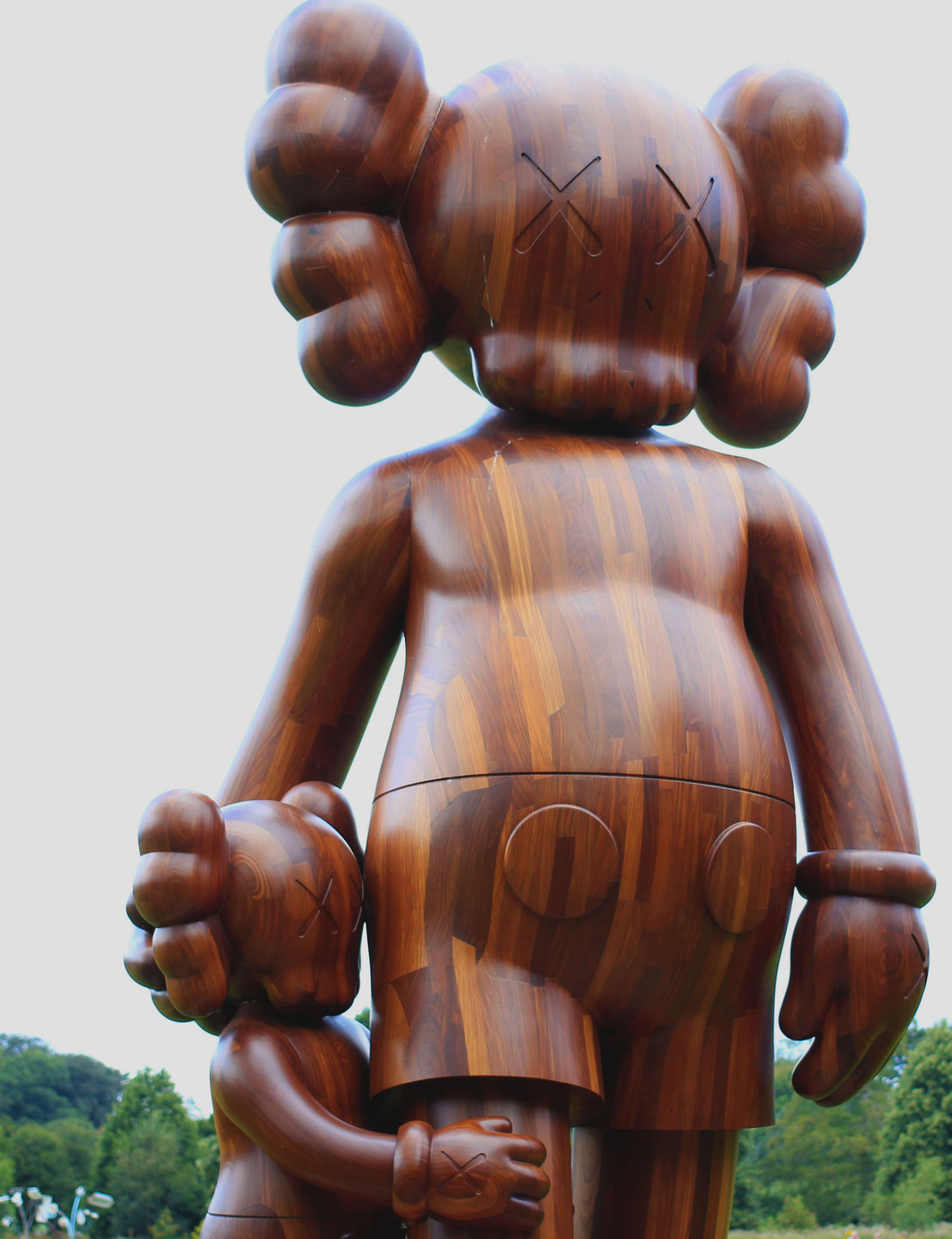 KAWS- Good Intentions, (2015).  Photographed by Natalie Marsh.
