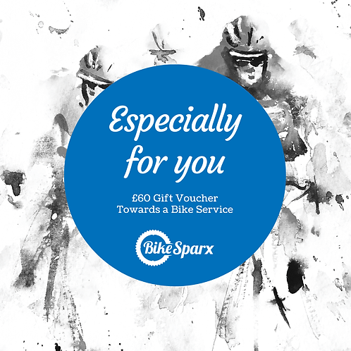 £60 Valentine's Day BikeSparx Gift Certificate