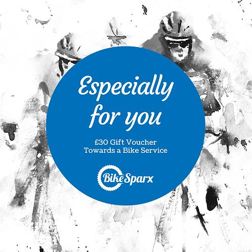 £30 Valentine's Day BikeSparx Gift Certificate