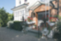 Lugano Care Home Entrance