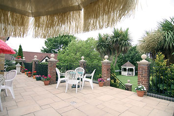 Terrace at our Buckhurst Hill care home