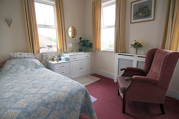 Lugano Care Home Bedroom