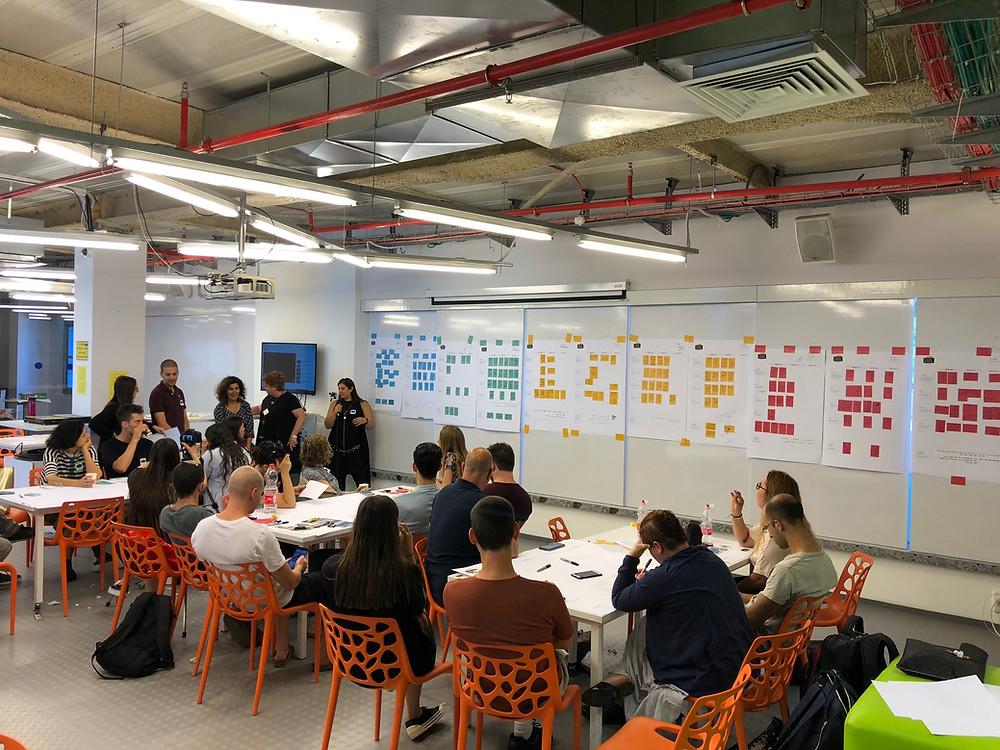 סדנא במכללה למנהל על שיתופיות בבית ספר לעיצוב וחשנות... היה מדהים ומעור השראה