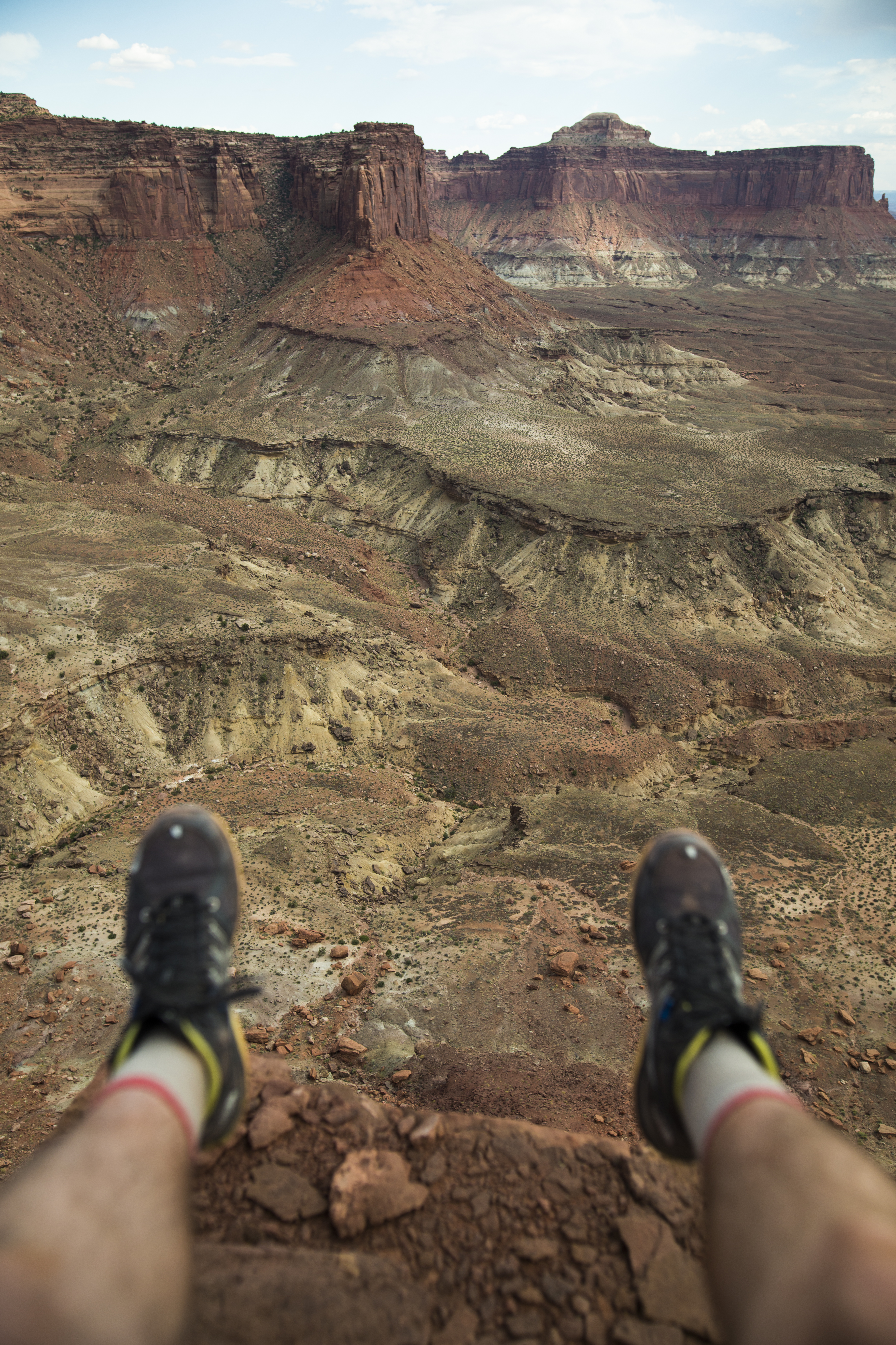 canyonlands with legs