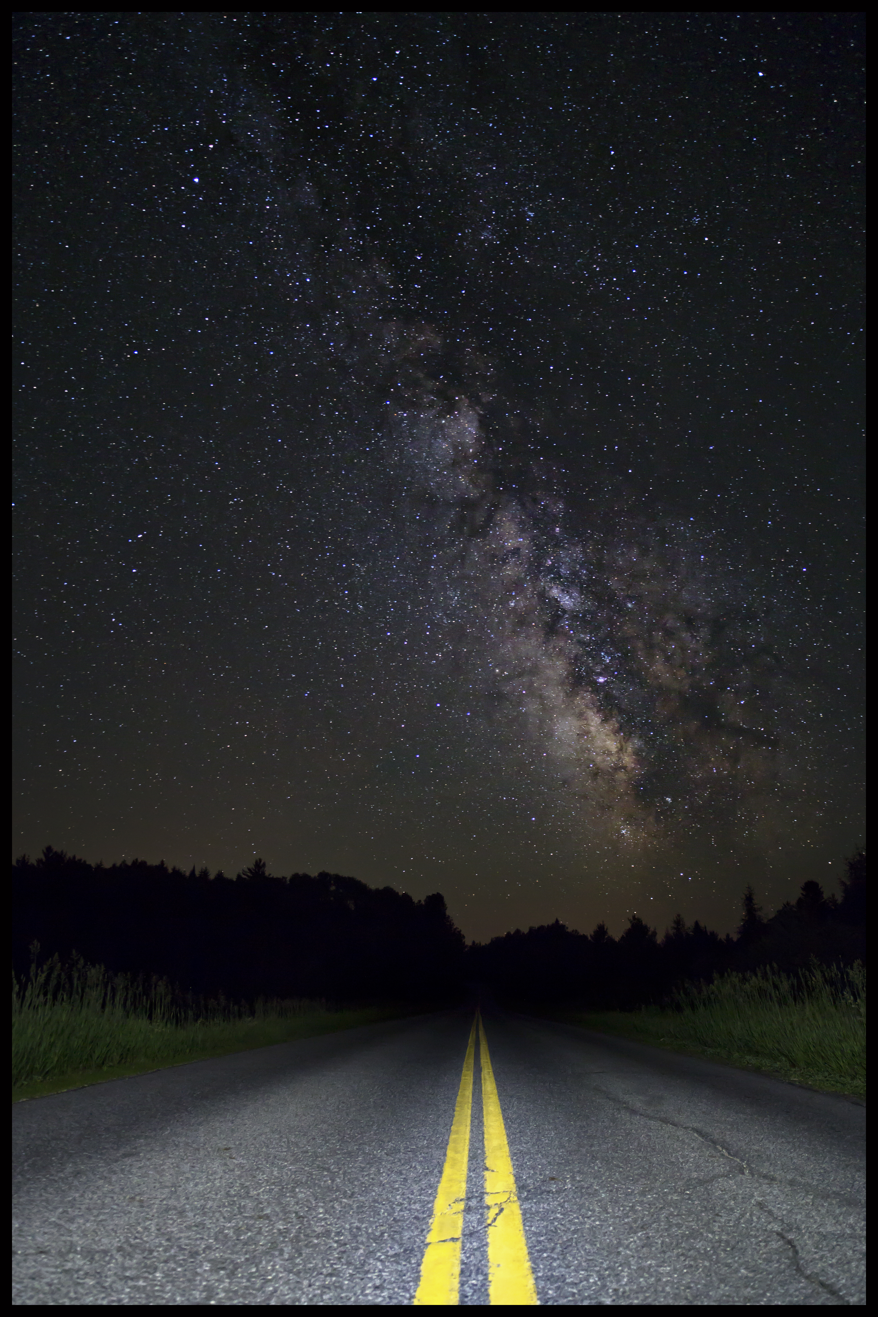 The road to the sky w Border