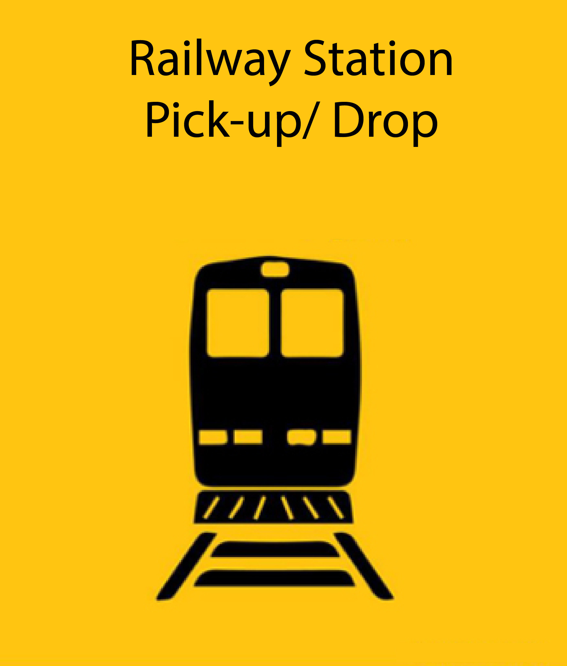 Railway Station Pick-up/Drop 4 Seater