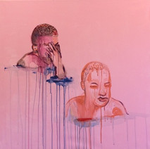les Egares 100cm/100cm Acylic on canvas 2019