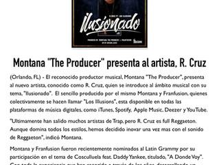 "Montana ""The Producer"" presenta al Artista R. Cruz"