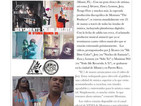 """Se graban cuatro videos musical del album, """"Sentimiento De Un Artista"""""""