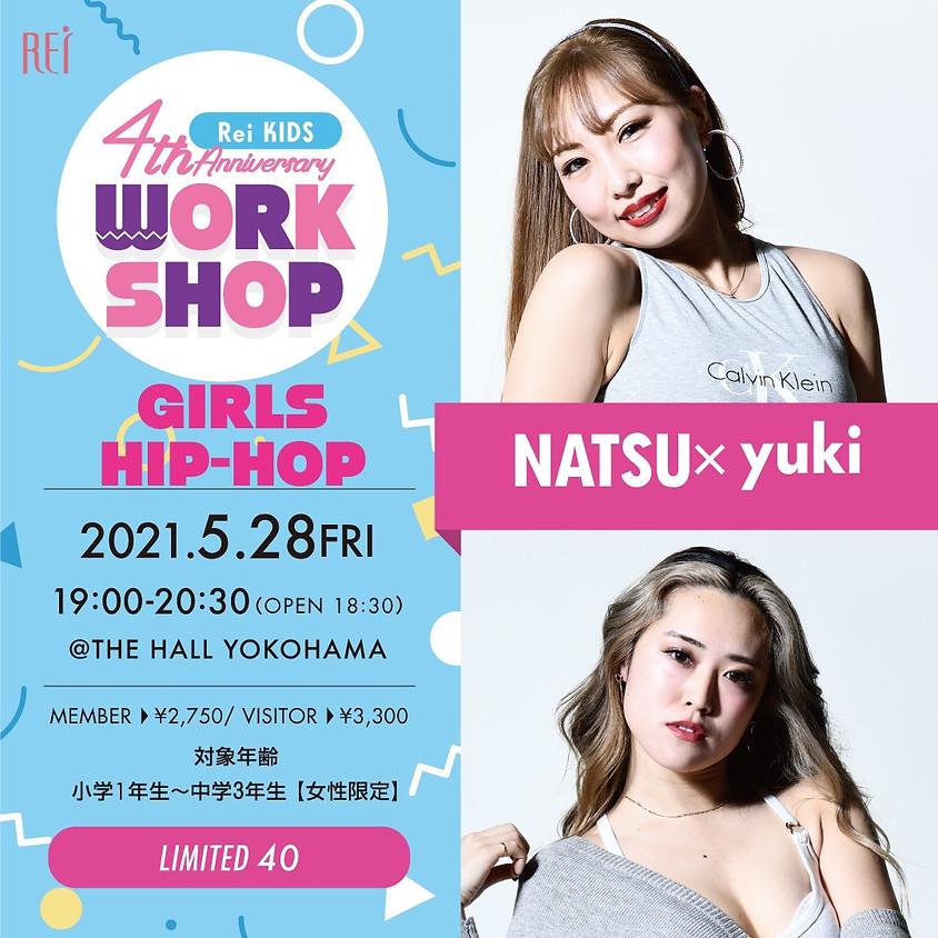 【SPECIAL WORKSHOP】NATSU×yuki
