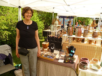 Marie at craft fair.JPG