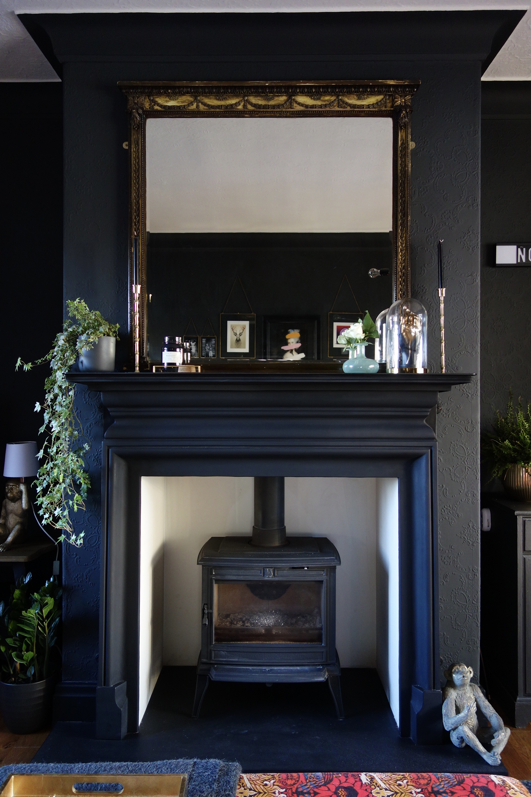 Log Burner & Fireplace