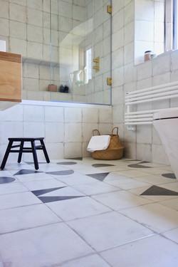 Monochrome Family Bathroom