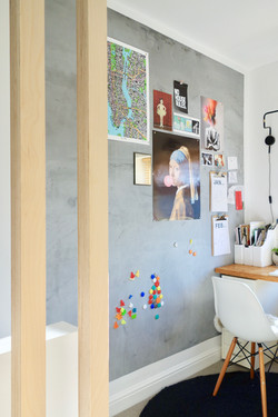 Magnetic Plastered Wall