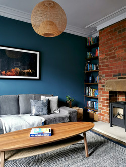Victorian Terrace Living Room