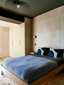Plywood Built in Wardrobes