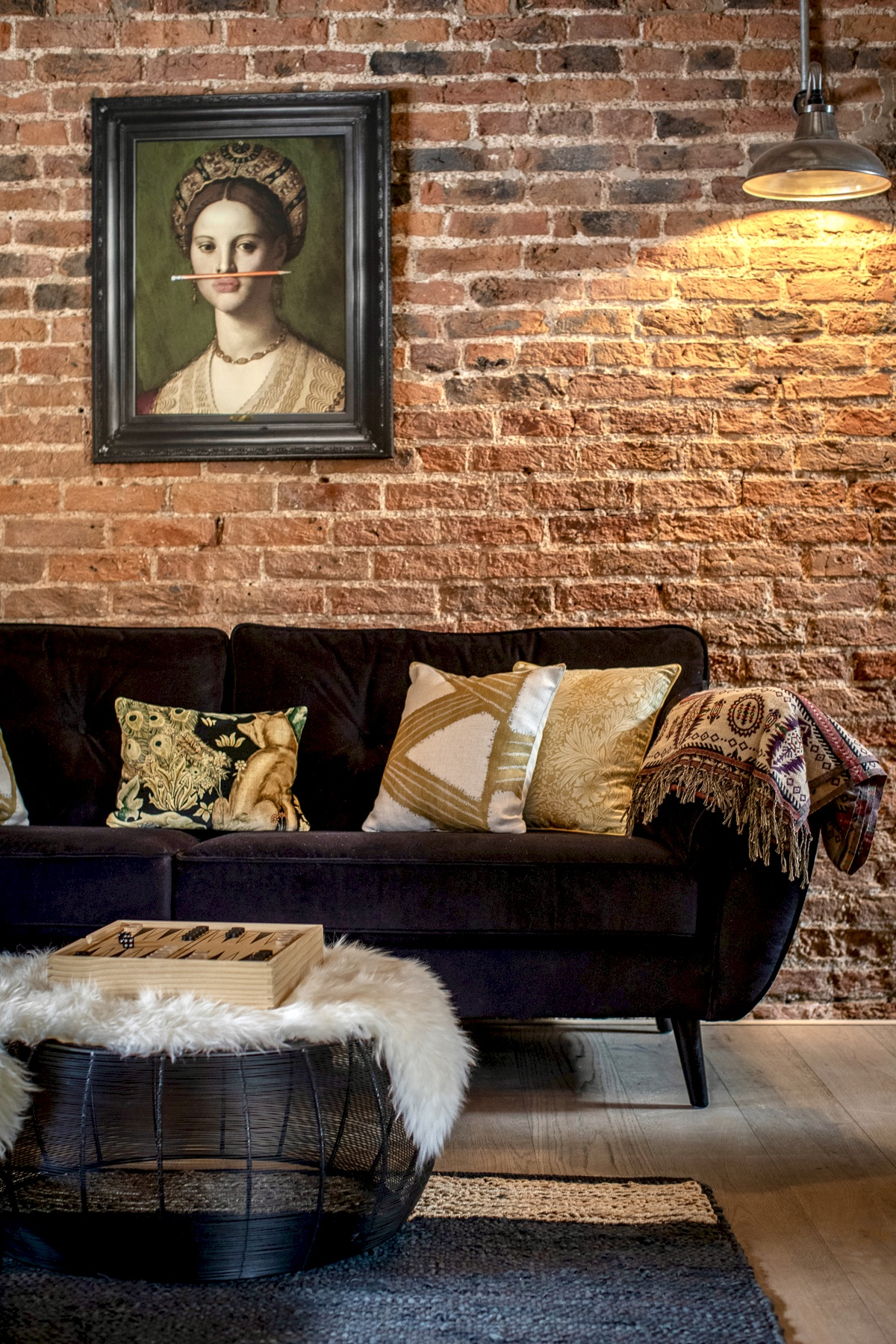 Exposed Brick at The Old Forge
