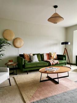 Japandi Inspired Living Room Design Leeds