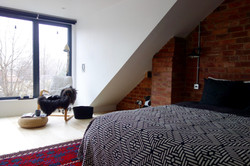 Loft bedroom dormer