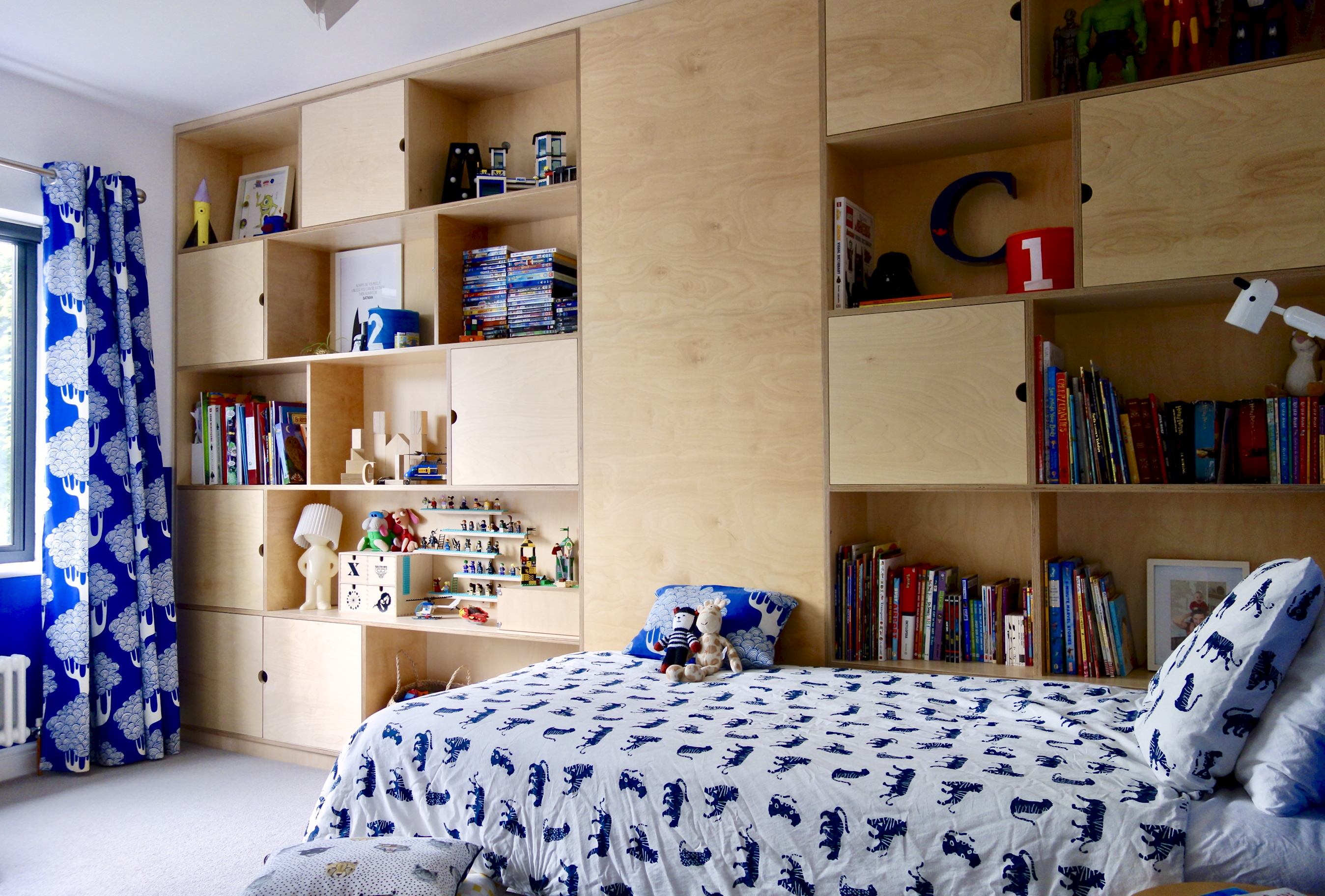 Bespoke built-in storage