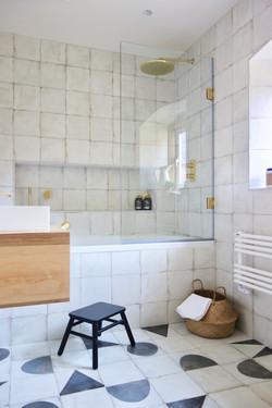 Scandi Inspired Family Bathroom
