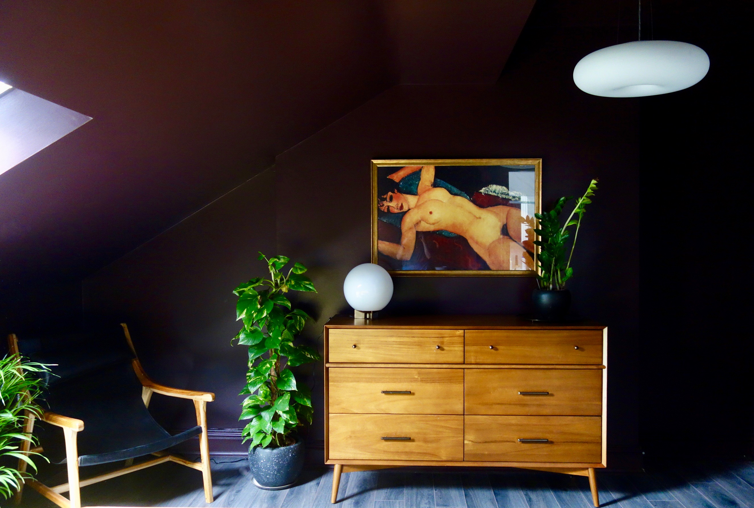 Mid Century Bedroom