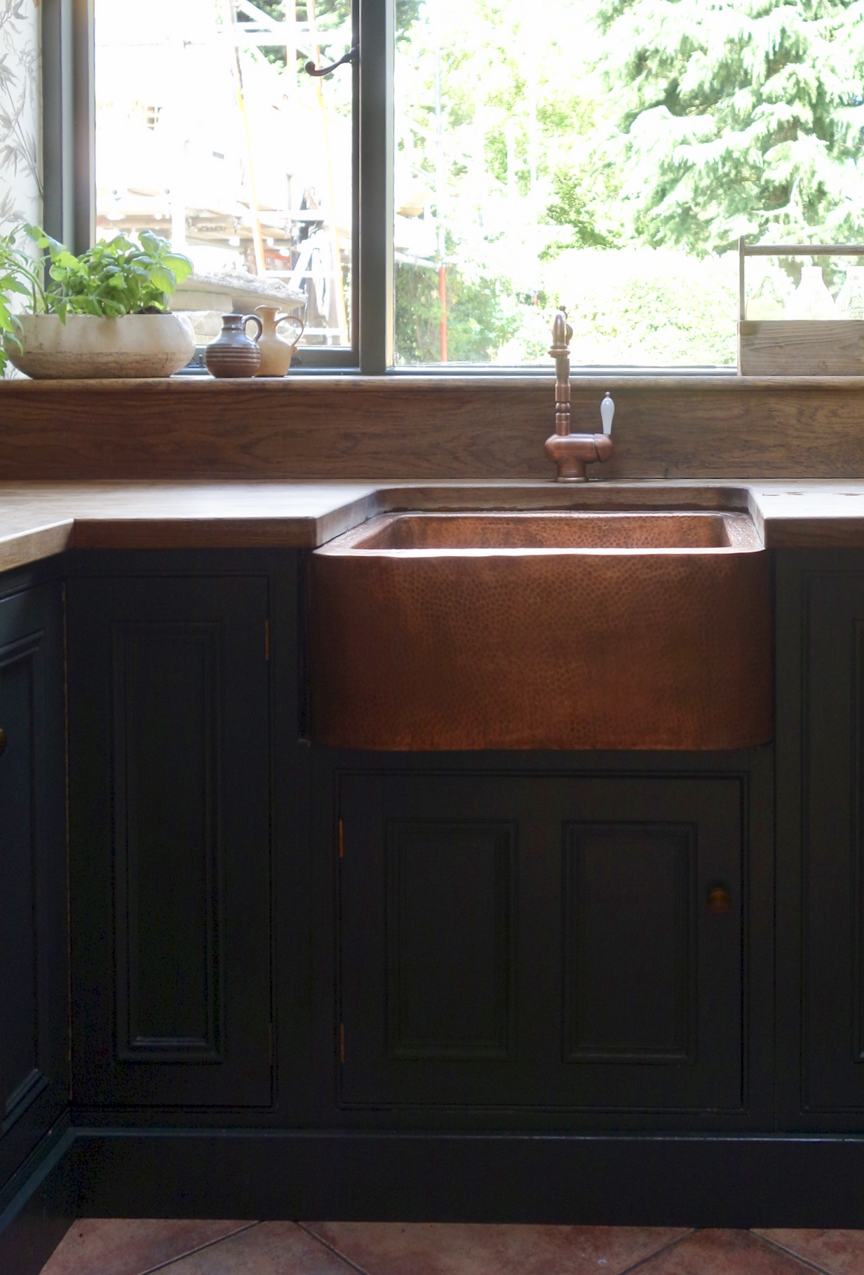Copper sink