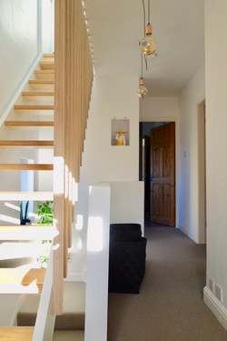 Birch Plywood Loft Staircase