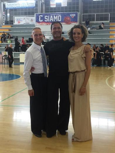 Io con Roberto e Tania