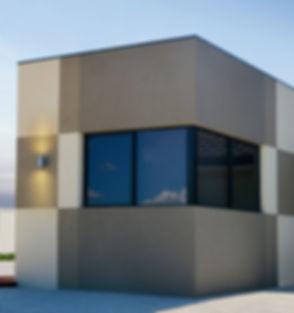 contemporary single storey narrow lot home design
