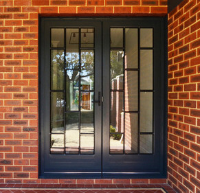 Custom steel doors