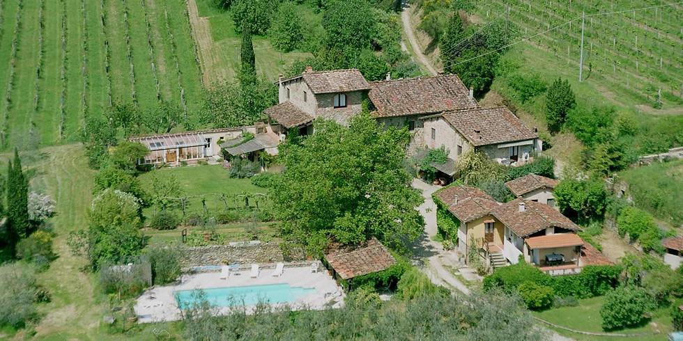 [Fully Booked] 3-week Tuscany Screenwriting Retreat - September 2021
