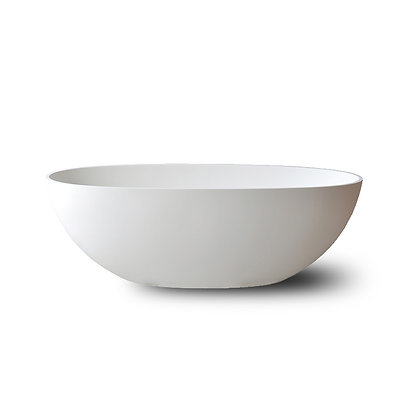 Cast stone freestanding bath tub