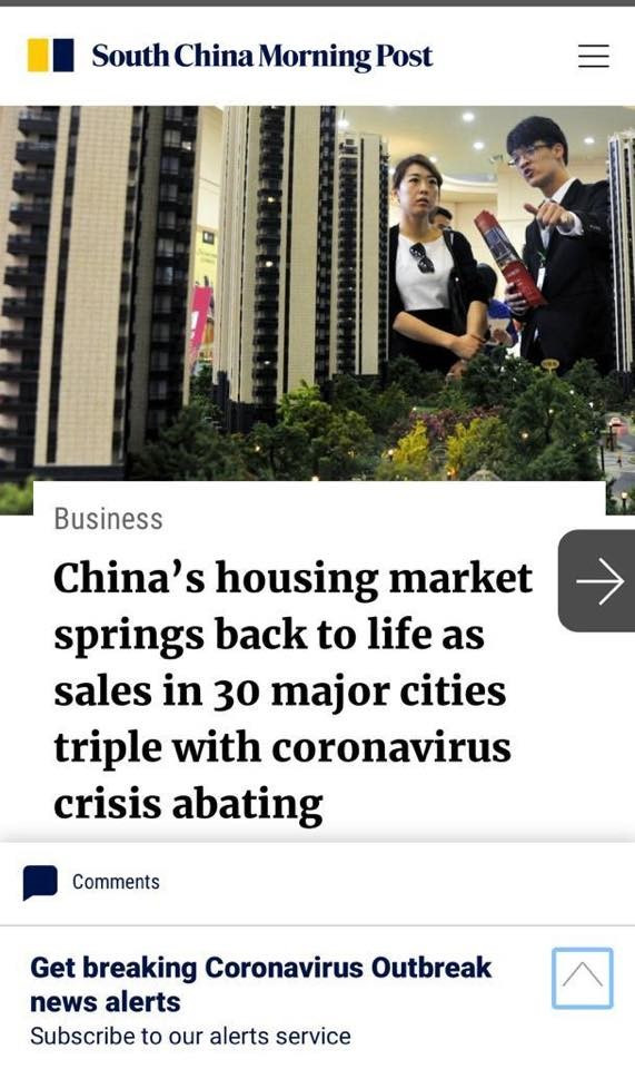 South China Morning Post Article