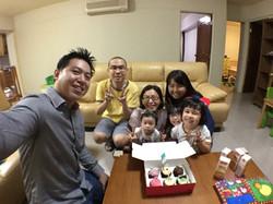 Celebrating birthdays together - real estate journey